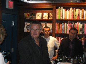 Author - Kevin Snook (left) & Chef - Daniel Boulud (right)