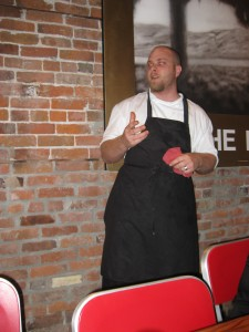 Chef Lee Humphries