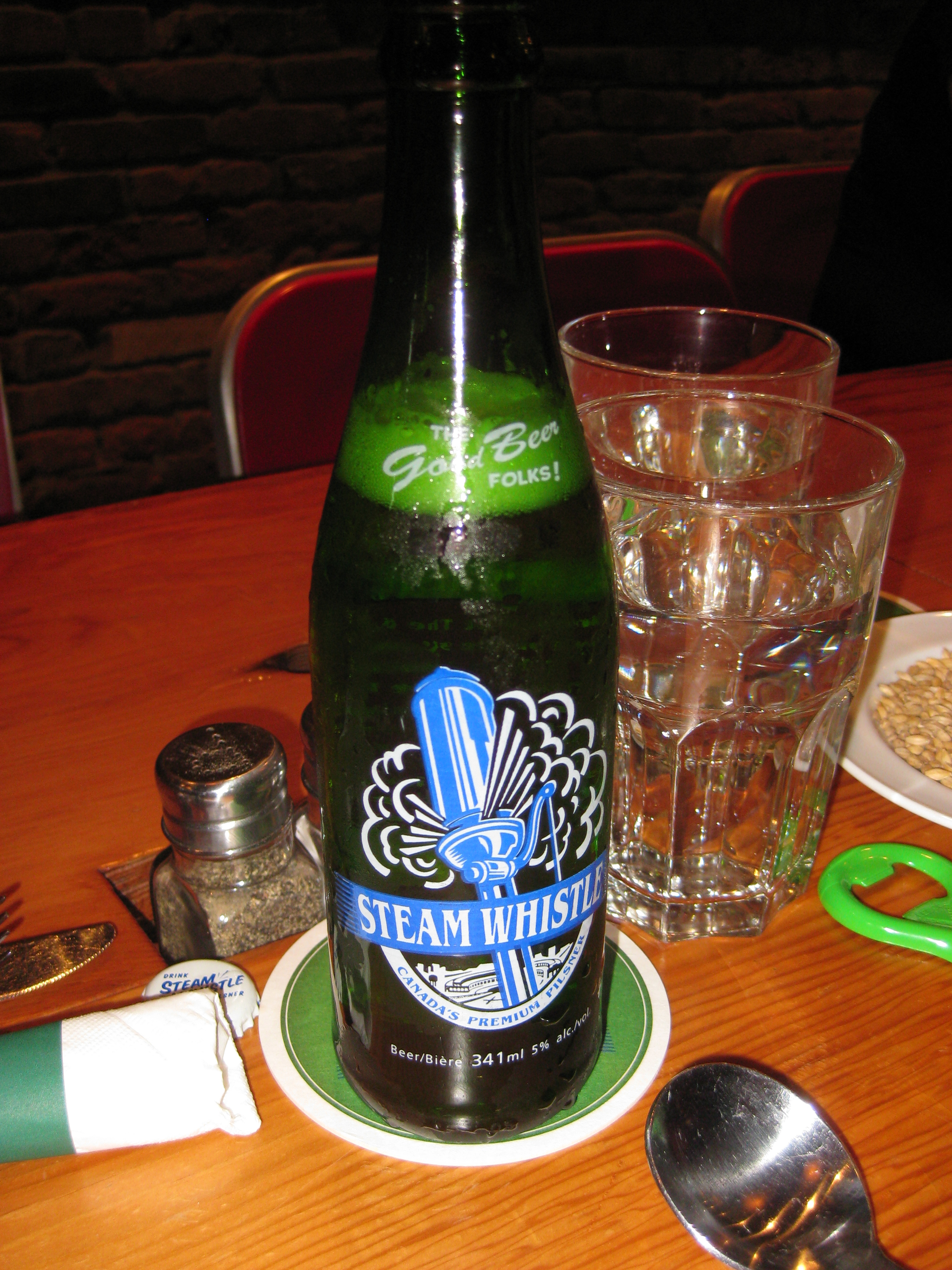 Steam Whistle Beer | Vancouver Foodster