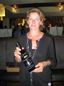 Cynthia Enns of Laughing Stock Vineyards