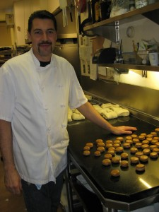 Theirry Busset and his Coffee Macarons
