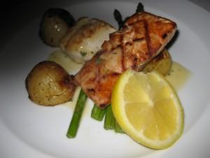Salmon & Halibut Duo