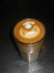 Facial Expressionate Latte Art