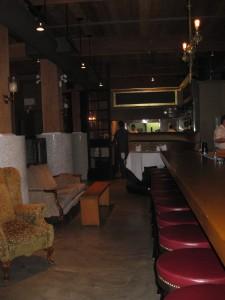 Seating at the Bar