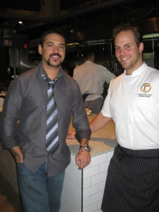 Bartender Jay Jones (left) & Chef Chris Irving (right)