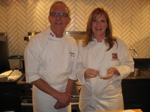 Chef John Bishop (Bishops) & Chef Mary Mackay (Terra Breads)