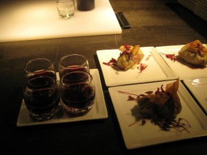 Duck Confit with mulled Red wine (by Chambar)