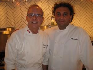 Chef John Bishop (Bishops) & Chef Vikram Vij (Vij's)