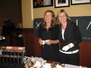 Hodie Rondeau (left) & Pamela Clarke (right)