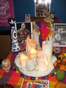 Day of the Dead (Los Muertos) display
