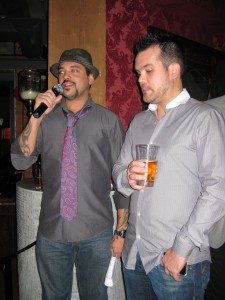 Jay Jones (Left) & Shaun Layton (Right) Announcing the Winners