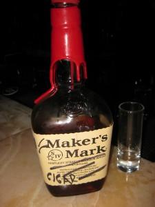Cuban cigar infused Bourbon