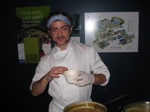 Chef Johnny Bridge of The Refinery