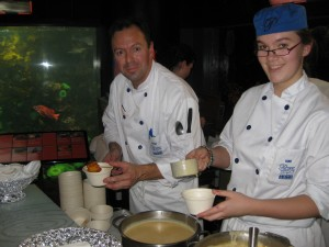 Pacific Institute of Culinary Arts with their Calypso Chowder