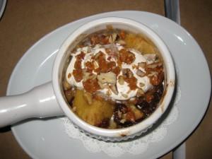 Maple Bourbon Bread Pudding