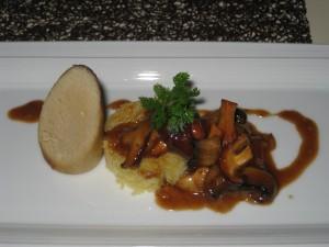 Chicken Boudin Blanc