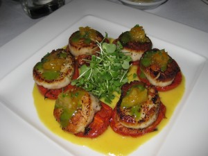 Pan Seared Qualicum Beach Scallops