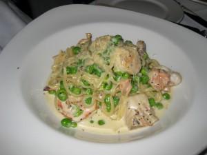 Seafood Linguine Carbonara