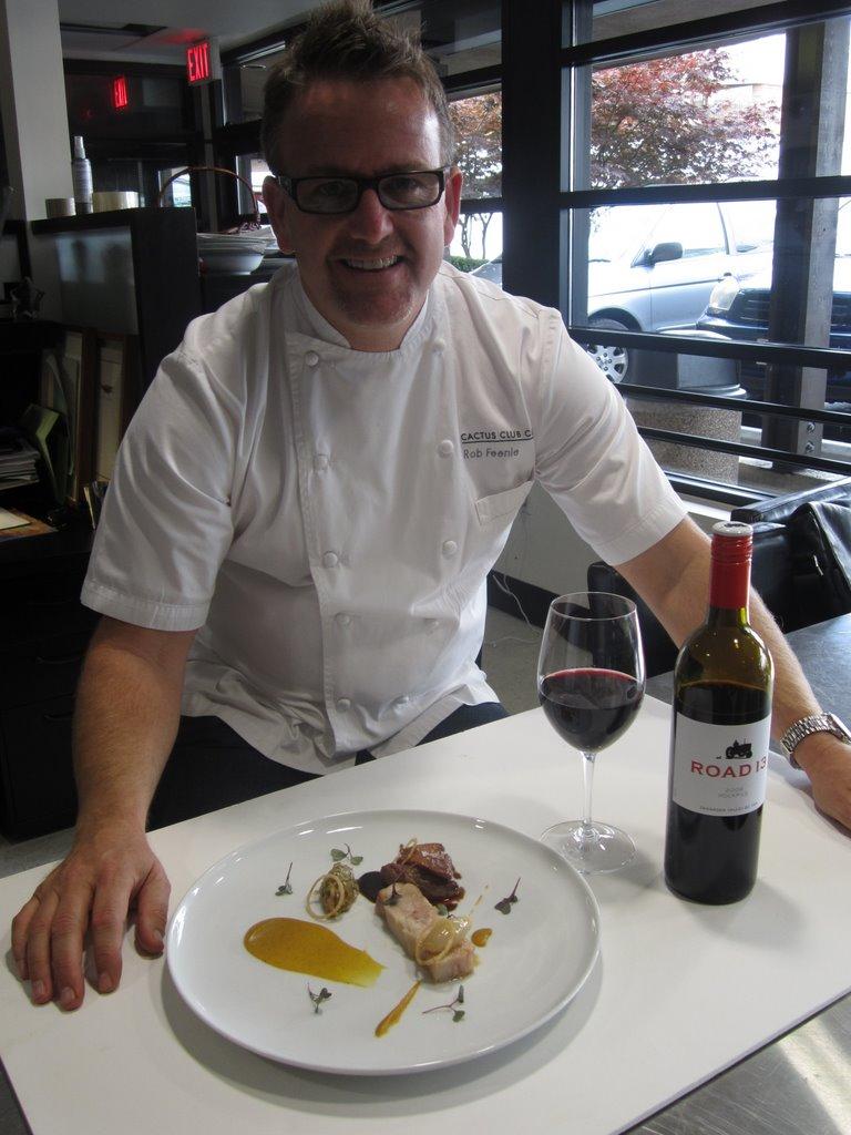 ?Chef Rob Feenie