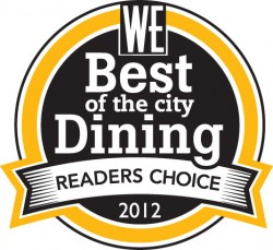 Best of Vancouver Dining_Readers Choice 2012 copy
