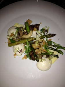 The Grilled Asparagus Salad