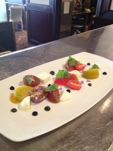 G.B. E. Heirloom Tomato Salad