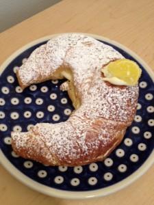 Limoncello Croissant at Italia Bakery