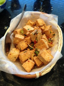 Salt & Pepper Crunchy Tofu