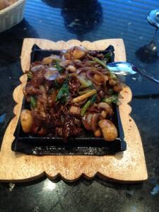 Sizzling Teppan Triple a Beef