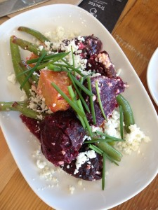 Roasted Red and Yellow Beets Salad