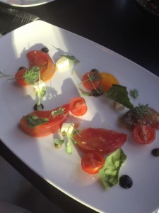 GBE Heirloom Tomato Caprese Salad