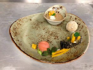 Tasting of Dungeness Crab and Butternut Squash
