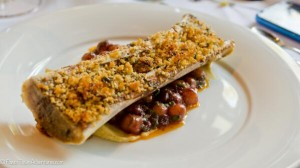 Brown Butter Broiled Organic Peace Country Beef Marrow 'Provençal'