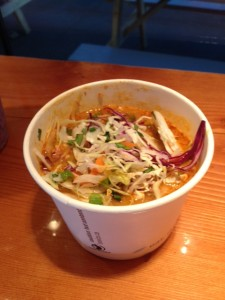 Red Veg Curry Bowl