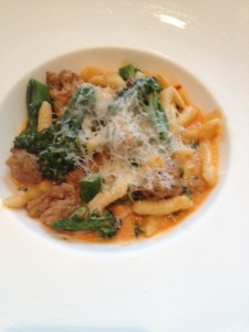 Cavatelli with house made sausage