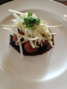 Dungeness Black Pepper Crab Fritters