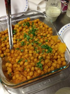 Channa Masala with Aloo