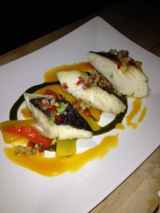 Seared Sable Fish