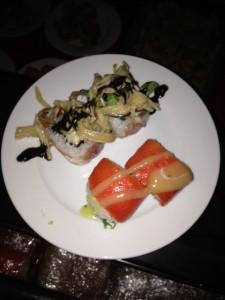 Salmon Kiwi & Autumn Roll -Zest Japanese