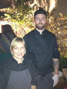 Chef Lisa Henderson (L) - Union Bar