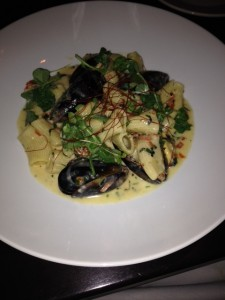 Hand Cut Pasta and Mussels