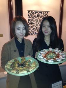 Sura Korean Royal Cuisine with their Beef Skewered Pancake and Seafood Skewered Pancake