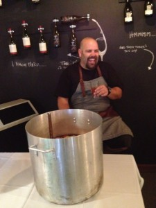 Chef Josh Wolfe at Good Wolfe Kitchen