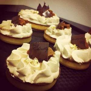 Pumpkin Tart Revisited by Chef Christophe Bonzon