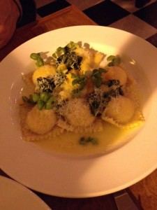 Ricotta Ravioli & Heirloom Squash