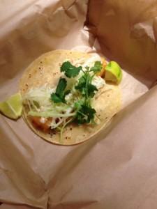 Cod Fish Taco