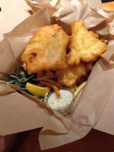 Halibut & Salmon Fish & Chips