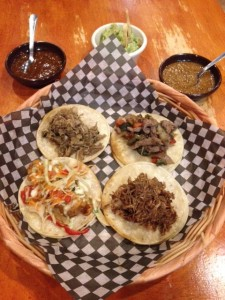 Plate of 4 Tacos