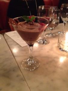 Dark Chocolate Mousse - Le Parisien (West End)