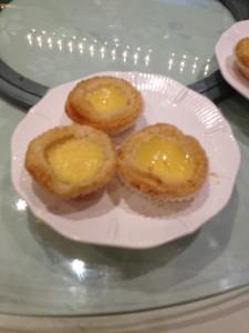 Baked Egg Custard Tarts